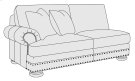 Foster Left Arm Loveseat in Molasses (780) Product Image