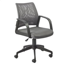 Gray Mesh Back Office Chair