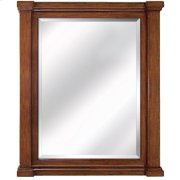 32 in. W Brown Vanity Mirror Product Image