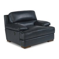 Jade Leather Power-Back Chair Product Image