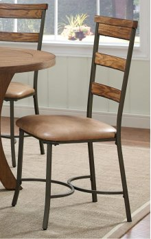 Avery Wood Plank Chair