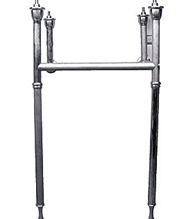 """32"""" Tapered Leg ( Will Work With Kohler Kathryn Console Table K-3020)"""