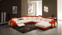 Divani Casa 4084 Contemporary Leather Sectional Sofa