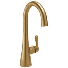 Champagne Bronze Single Handle Bar Faucet
