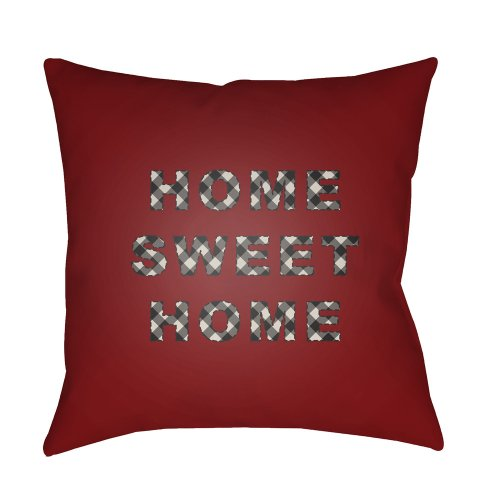 "HOME SWEET HOME PLAID-019 20"" x 20"""