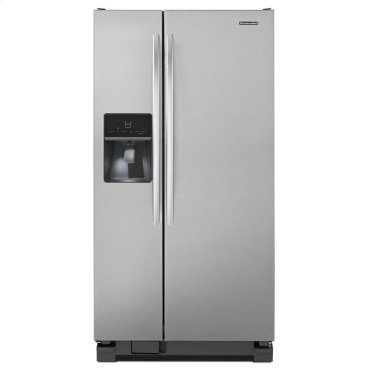21 Cu. Ft. Standard-Depth Side-by-Side Refrigerator, Architect® Series II - Stainless Steel