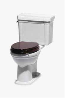 Universal Low Gloss Mahogany Elongated Watercloset Seat STYLE: UNWC43