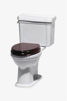 Universal Low Gloss Mahogany Elongated Watercloset Seat STYLE: UNWC43