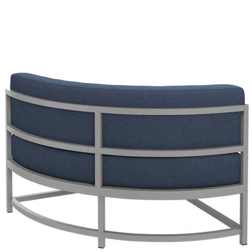 "Cabana Club Cushion Curved Corner Module (17"" Seat Height)"