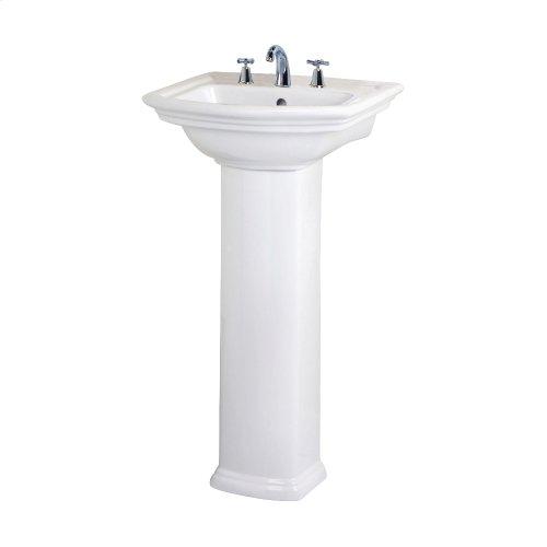 Washington 460 Pedestal Lavatory - White