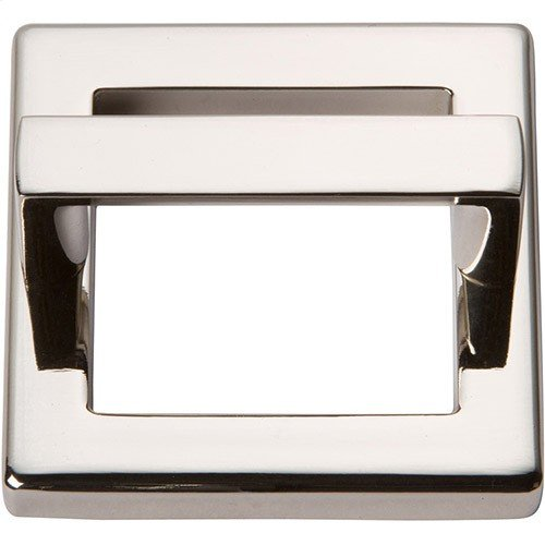 Tableau Square Base and Top 1 13/16 Inch - Polished Nickel