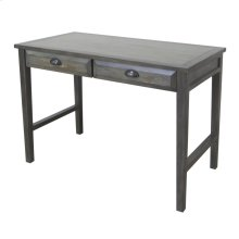 Hawthorne Estate Grey Wash USB Power Accent Desk
