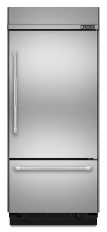 """36"""" Pro-Style® Built-In Bottom Mount Refrigerator"""