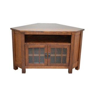 "Medallion 52"" Corner TV Unit"
