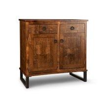 Cumberland Sideboard w/2 Wood Doors & 2/Dwrs & 1/Wood Adjust.