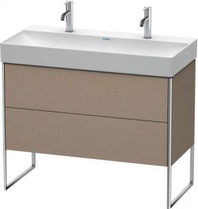Vanity Unit Floorstanding, Linen (decor)