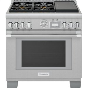 Thermador36-Inch Pro Grand® Commercial Depth Dual Fuel Range