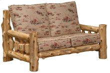 Log Frame Loveseat Standard Fabric