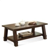 Windridge Angled Leg Coffee Table Sagamore Burnished Ash finish