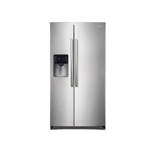 Samsung25 cu. ft. Side-by-Side Refrigerator with In-Door Ice Maker in Stainless Steel
