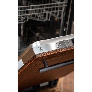 Zline KitchenHand-Hammered Copper Dishwasher