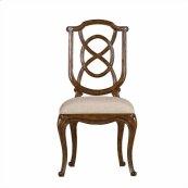 Arrondissement - Tuileries Side Chair In Heirloom Cherry