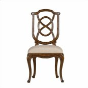 Arrondissement - Tuileries Side Chair In Heirloom Cherry