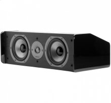 "TSi Series Center Channel Speaker with 5.25"" Drivers in Black"