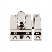 Cabinet Latch 2 Inch - Polished Nickel