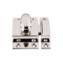 Cabinet Latch 2 Inch - Polished Nickel