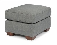 Main Street Fabric Ottoman Product Image