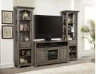 "55"" TV Console With Louvered Doors Product Image"
