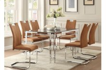 Side Chair, Camel Brown
