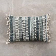 Teal Mikey Pillow - Small