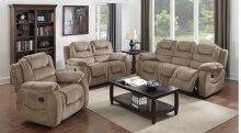 Sunset Trading Aspen 3 Piece Reclining Living Room Set