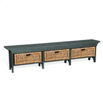 """78""""W Long Bench Product Image"""