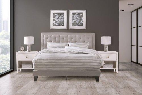 La Croix Bed In One - Full - Glacier Gray