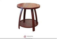 End Table w/1 Iron Shelf