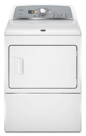 White Maytag® Bravos X™ High-Efficiency Electric Dryer