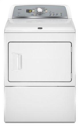 White Maytag® Bravos X™ High-Efficiency Electric Dryer