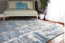 Ellora Ell01 Blue Rectangle Rug 8'6'' X 11'6''