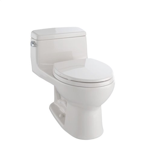 Eco Supreme® One-Piece Toilet, 1.28 GPF, Round Bowl - Sedona Beige
