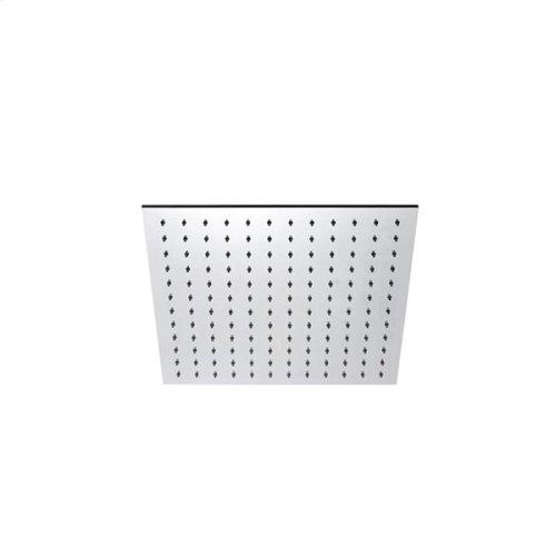 "INOX stainless steel 7 3/4"" square shower head, Satin finish"