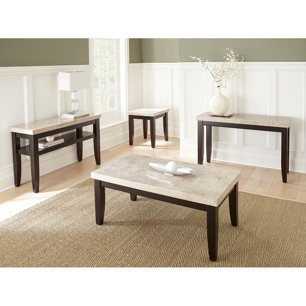 """Monarch End Table, 22"""" x 24"""" x 24"""""""