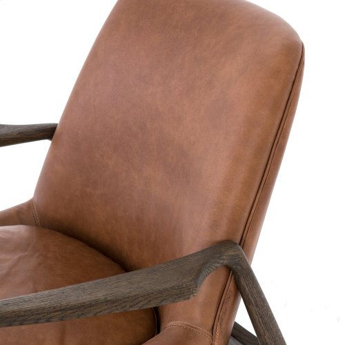 Brandy Cover Braden Leather Chair