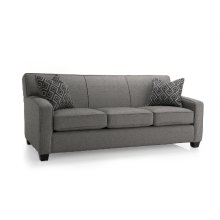 Queen Bed with Chaise