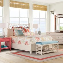 Columbia Fretwork Bedroom Set