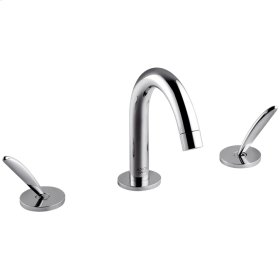 Chrome Classic Widespread Faucet