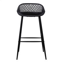 Piazza Outdoor Bar Stool Black-m2