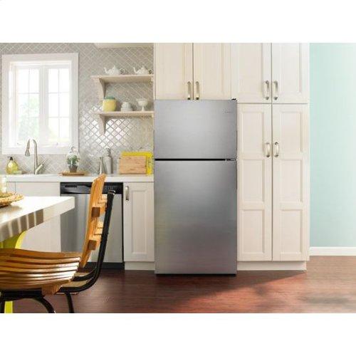 30-inch Wide Top-Freezer Refrigerator with Garden Fresh™ Crisper Bins - 18 cu. ft. - black
